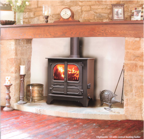 The Highlander 10 CH Stove