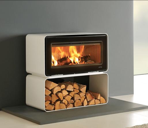 Living Cube Wood Burning Freestanding Fires